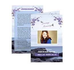 printable funeral programs funeral program template funeral