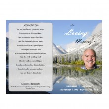 Printable Funeral Template