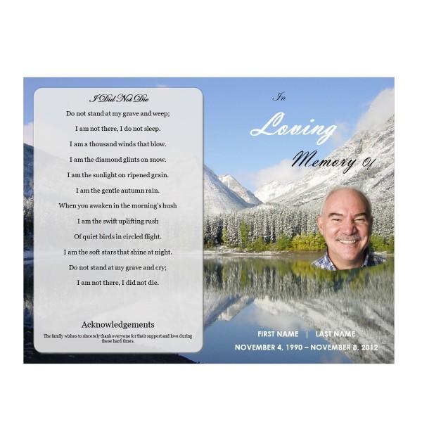 Printable Funeral Template