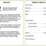 funeral template example