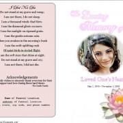 Lily Memorial Program