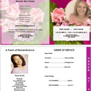 funeral pamphlets templates