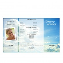 obituary template for funeral service