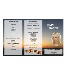 trifold funeral programs