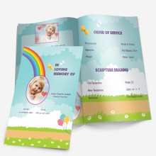 funeral templates for children