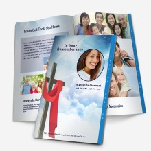 graduated template for funeral service