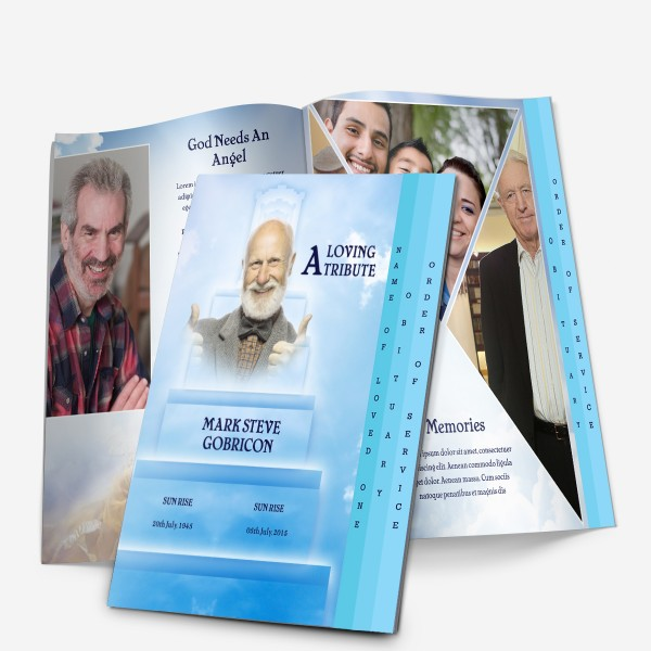 download memorial program template