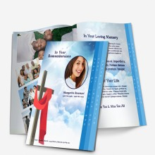 step fold obituary program