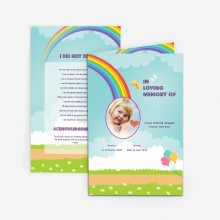buy memorial card for children